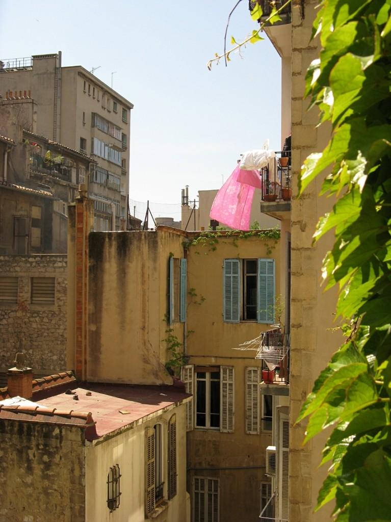 Marseille: hotellin ikkunasta
